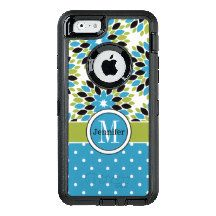 iPhone 6/6s Case | Monogram, Floral, Polka Dots