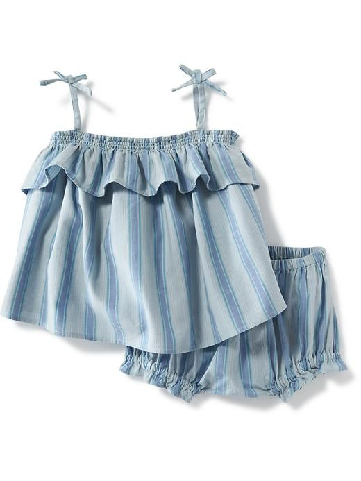 2-Piece Ruffle Tank and Bloomer Set for Baby  Product Image
