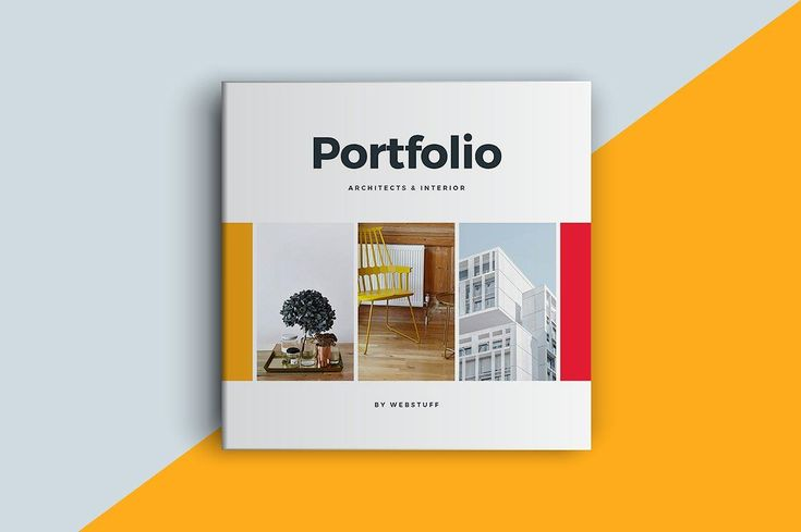 Square Portfolio Brochure Template. A beautiful and modern Portfolio brochure template. They are perfect for your business and for personal use. The template page designs are very trendy and can be fully customised. #brochure #portfolio #branding #marketing #photography #book