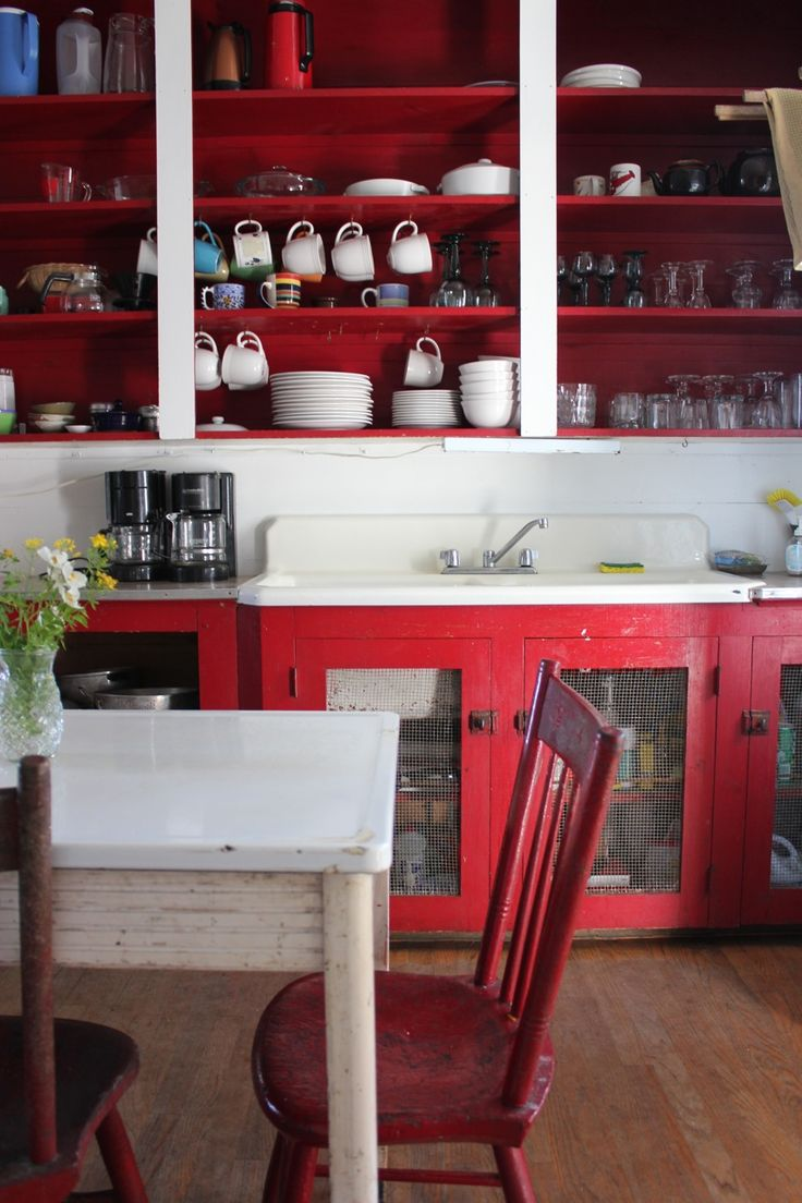 Red Kitchen Design 17 Best Images About Rode Keukens On Pinterest Stove Jonathan