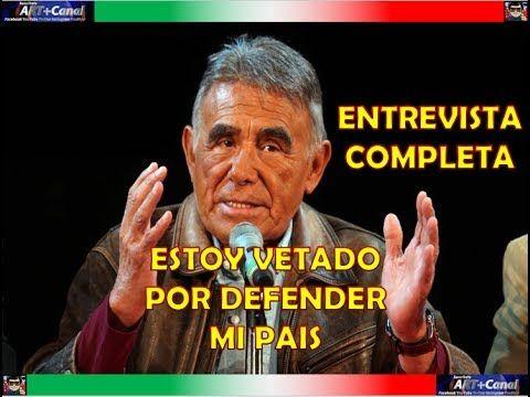 Estoy vetado en México por defender a mi país Hector Suarez