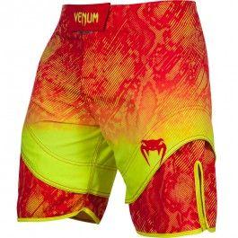 Short Venum Fusion Orange/Jaune