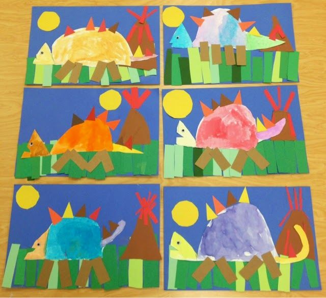 Art with Mr. Giannetto: Kindergarten Dinosaurs