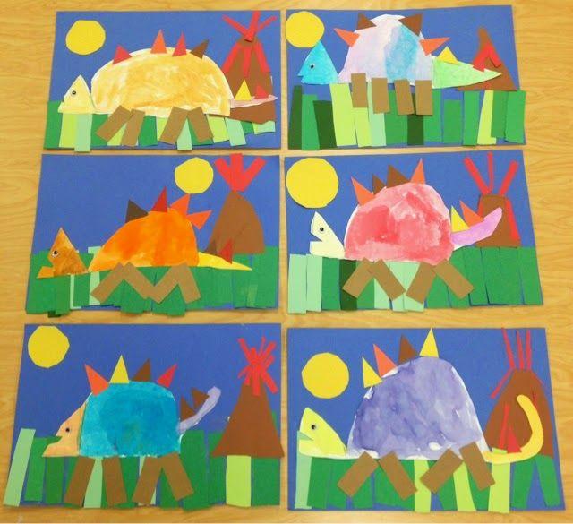 Art with Mr. Giannetto: Kindergarten Dinosaurs