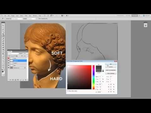 Trucos de Arte Digital: Cómo dibujar con Photoshop Sombras y Luces! - YouTube