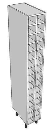1970mm tall wide wine rack - http://www.diy-kitchens.com/kitchen-units/base/wine-rack/