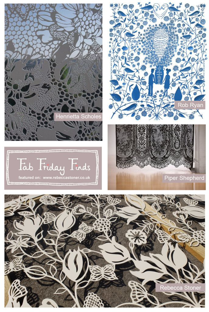 Fab Friday Finds - Week 8 - Laser Cutting - on Rebecca Stoner www.rebeccastoner.co.uk