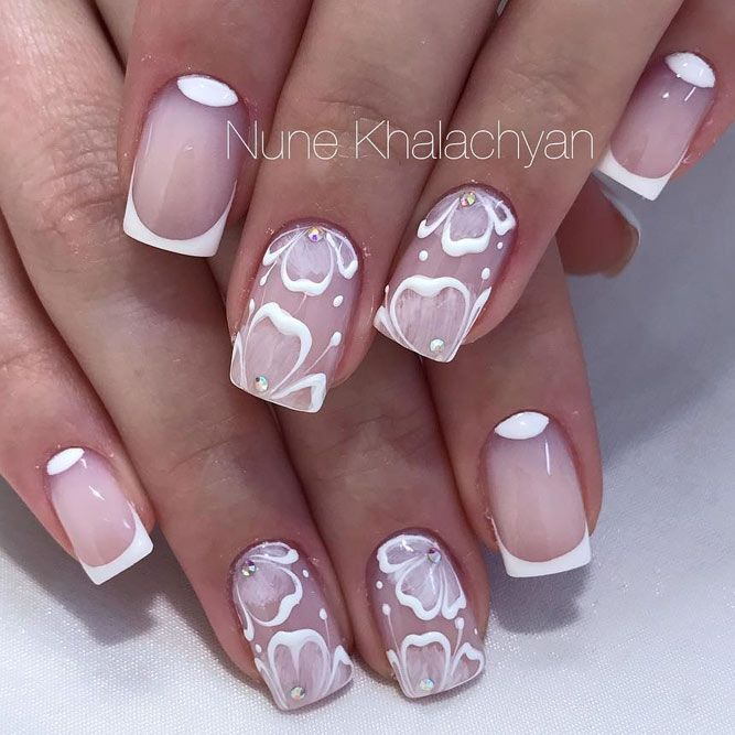 30 Amazing Prom Nails For Your Special Day ★ See more: http://glaminati.com/amazing-prom-nails/