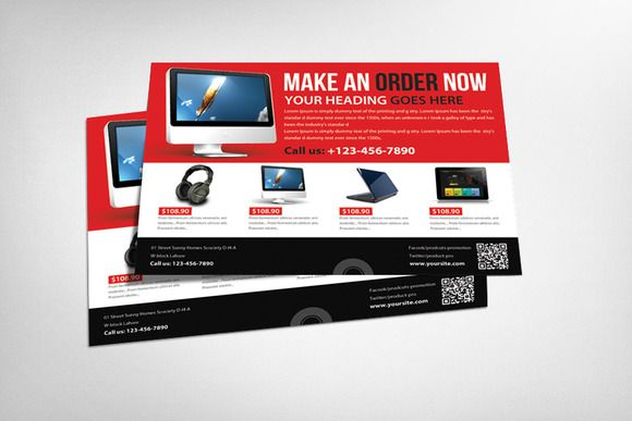 Computer Repair Service Flyer Templ by Business Templates on Creative Market