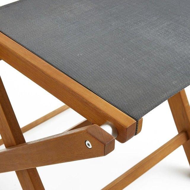 Chaise De Jardin Pliante (lot De 2), Exodor - Taille : Taille Unique ...