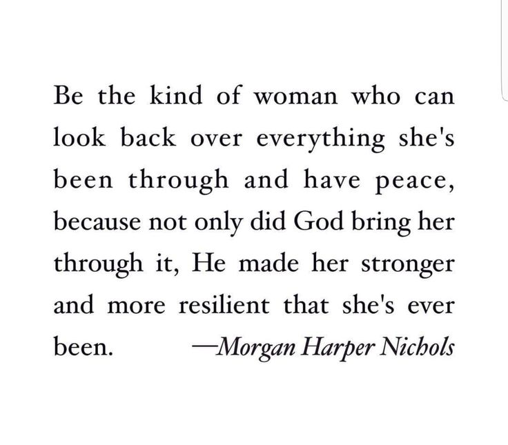 God brings us through  (Morgan Harper Nichols)