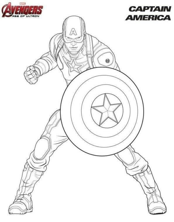 Pin De Konpanya Kartoons En Avengers Para Colorear