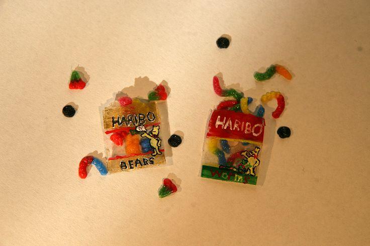 Gummy candies - polymer clay (liquid)
