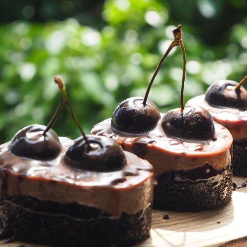 Cherrylicious Oreo (No Bake)