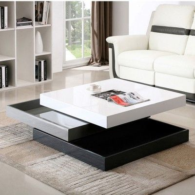 CW01 Modern Rotary Coffee Table. Contemporary ...
