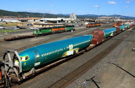 Boeing Plane Train