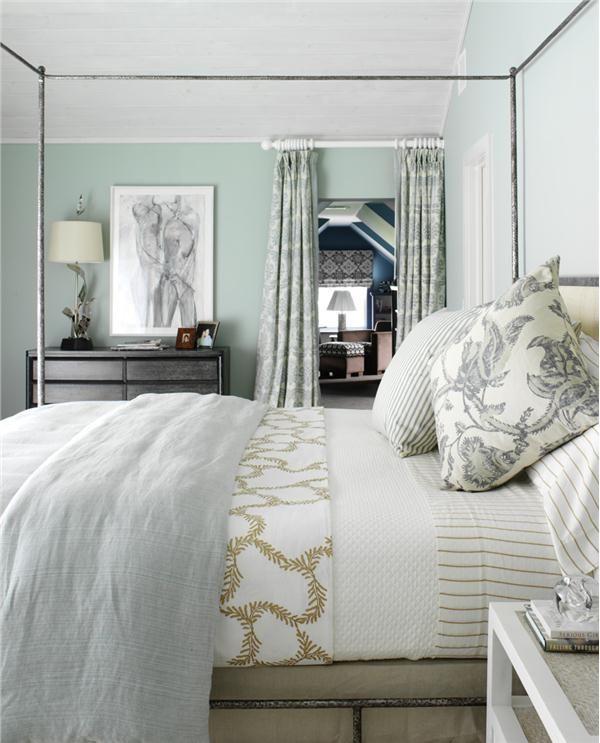 modern retro bedroom by tara seawright