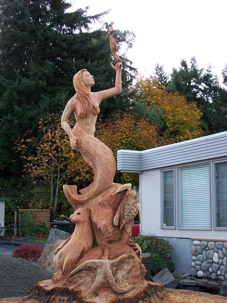 Best images about wood sculptures on pinterest