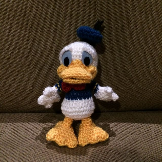 Donald Duck Amigurumi Pattern Free : 17 Best images about Disney Classic Crochet on Pinterest ...