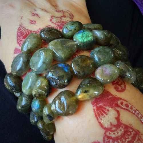 Wearing or carrying #Labradorite allows your innate magical powers to surface; it invokes the ...