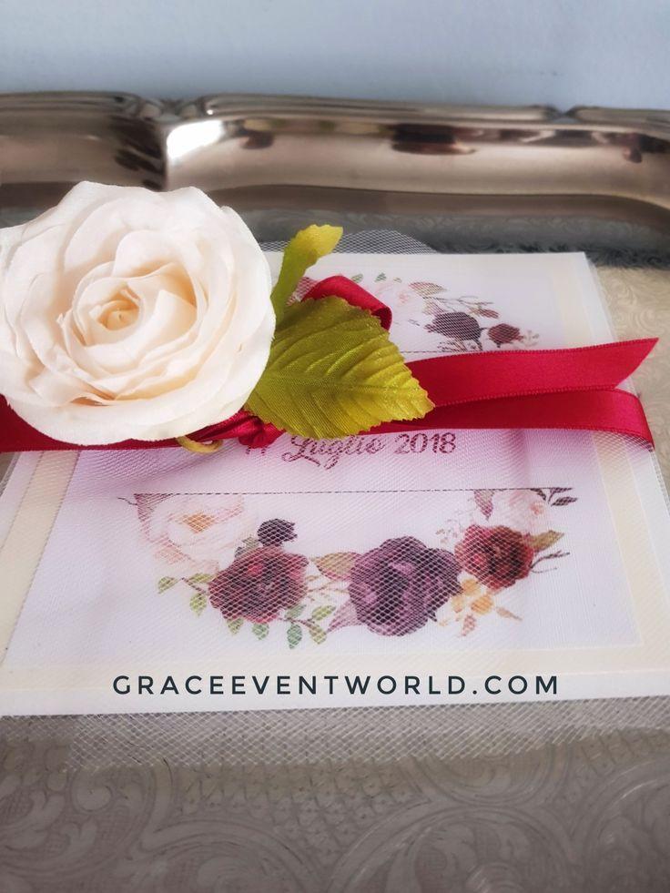 Partecipazione nozze Mod.Gracee  Www.graceevent.net