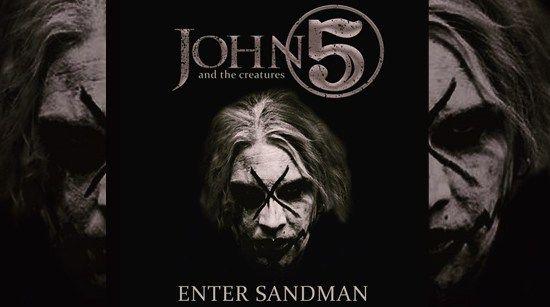 Listen to John 5's cover of Metallica's classic 'Enter Sandman' on Sirius XM today