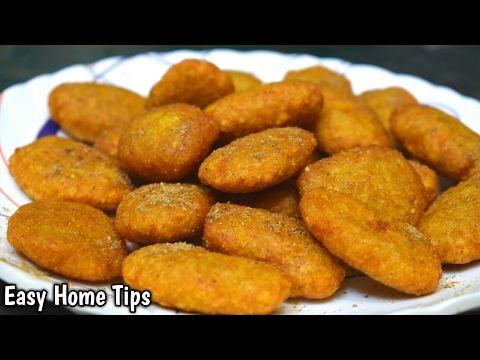 5 मिनट में बनाये कुरकुरे आलू स्नैक्स | Aloo Snacks Indian Recipe In Hindi | Aloo Snacks Recipe - YouTube