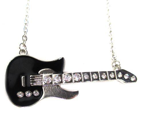 Guitar Kitara kaulakoru Ei tarvitse ilmakitaraa soittaa... Hopeanvärinen pitkä tukeva ketju. Riipuksen leveys 8cm Isot timskut, emalia. Cool! - See more at: http://somemore.fi/tuotteet.html?id=16/182#sthash.pXJQZVSV.dpuf