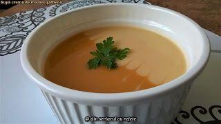 DIN SERTARUL CU REȚETE: Supă cremă de mazăre galbenă