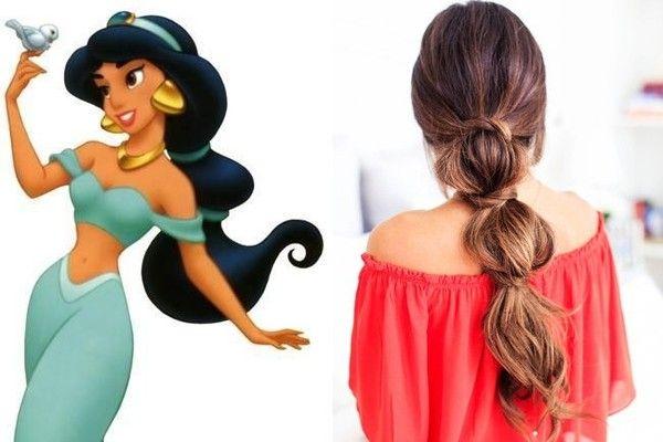 Disney Princess-Inspired Hairstyles | Princess Jasmine, 'Aladdin'