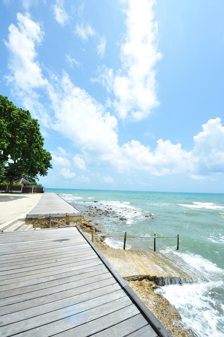 view from Chang Buri Resort & Spa