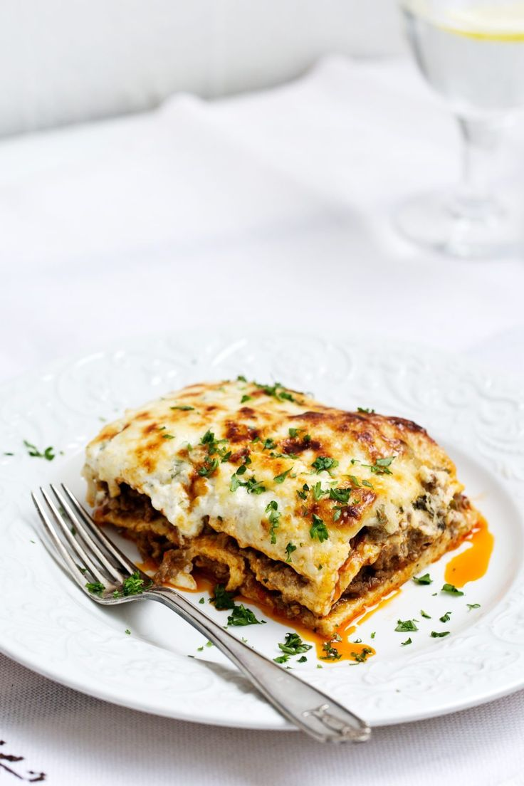Keto lasagna. For when you feel like making something special.