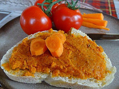 Tomaten - Möhren Aufstrich