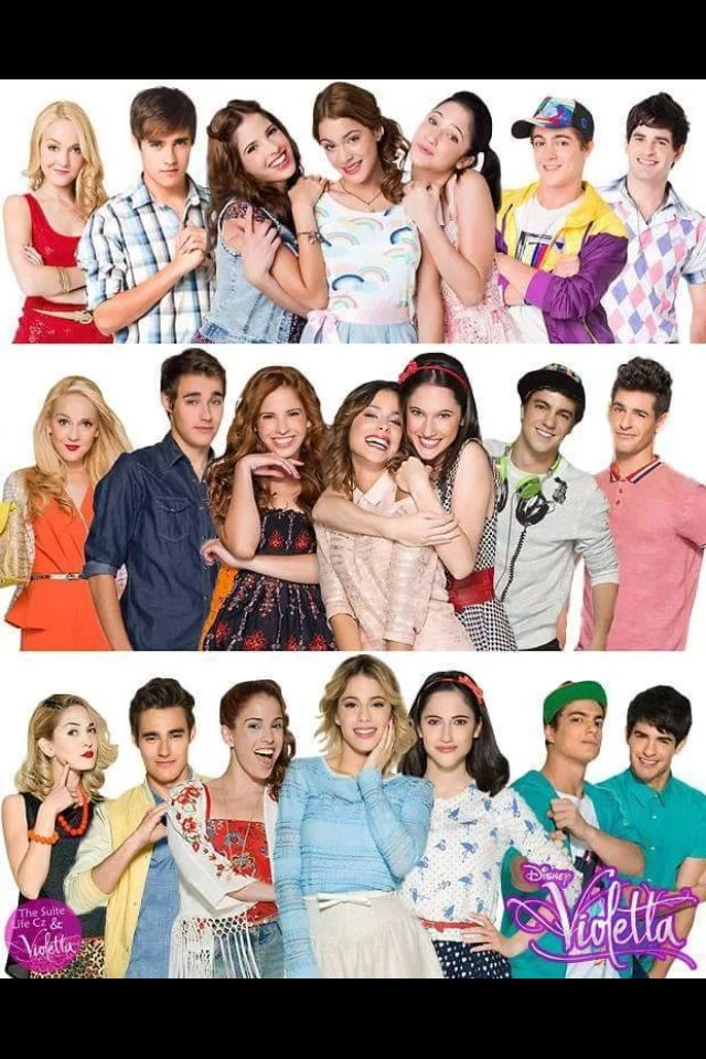 21 best videos de violetta y leon images on pinterest - Violetta disney channel ...