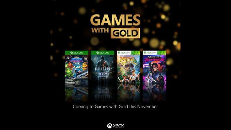 Juegos con Gold Xbox One y Xbox 360 | Noviembre 2016