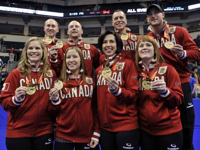 Canadian Prime Minister Stephen Harper today tweeted his congratulations to Canada's Olympic curling teams led by Jennifer Jones and Brad Jacobs.   #WEAREWINTER