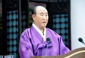 Sun Myung Moon 03.09.12  founder of the Unification Church (Moonies)