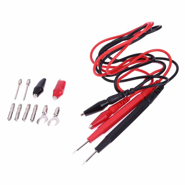 1 Set Multifunction Combination Test Cable Wire Digital Multimeter Probe Test Lead Cable Alligator Clip