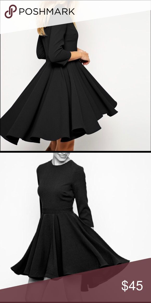 Hi Low ASOS Black Dress No trades, swaps or off-posh transactions, no exceptions! Measurements can be provided upon request. Any item in my closet $10 and under can be bundled for free with any purchase of $10 or more, just ask when purchasing! All bundles save 30%! Please feel free to make an offer so the price is right! Happy poshing! ASOS Dresses High Low