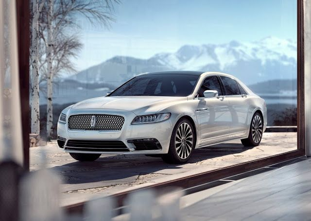 AutoLibs  - 2017 Lincoln Continental  - The full-size sedan is designed to appeal to culturally progressive clients who define luxury on ...