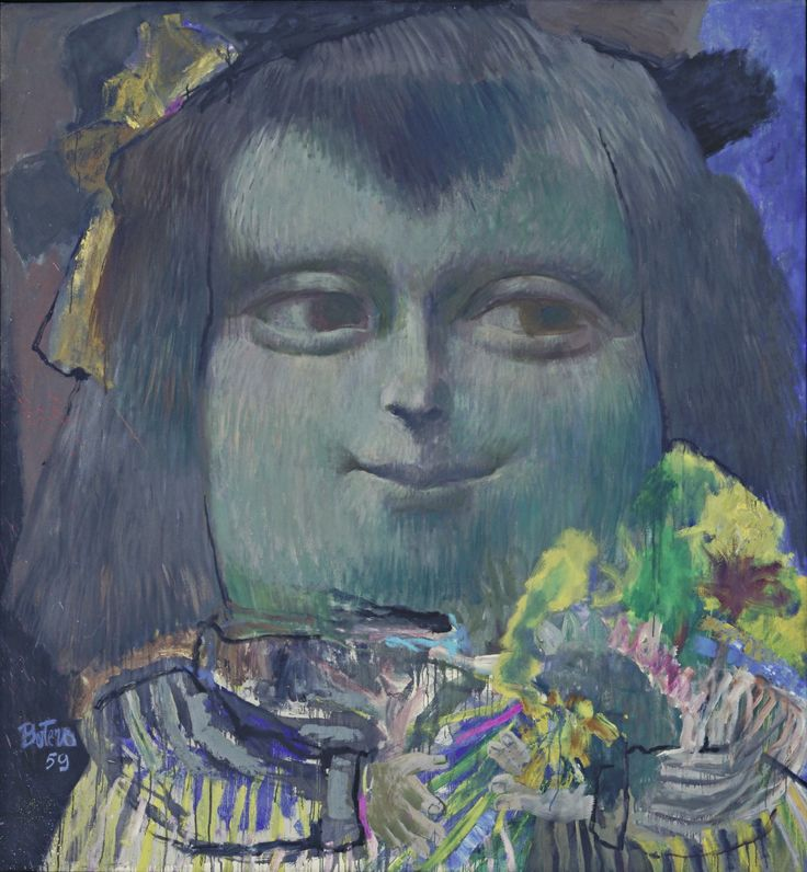 Fernando Botero. Mona Lisa, Age Twelve. 1959