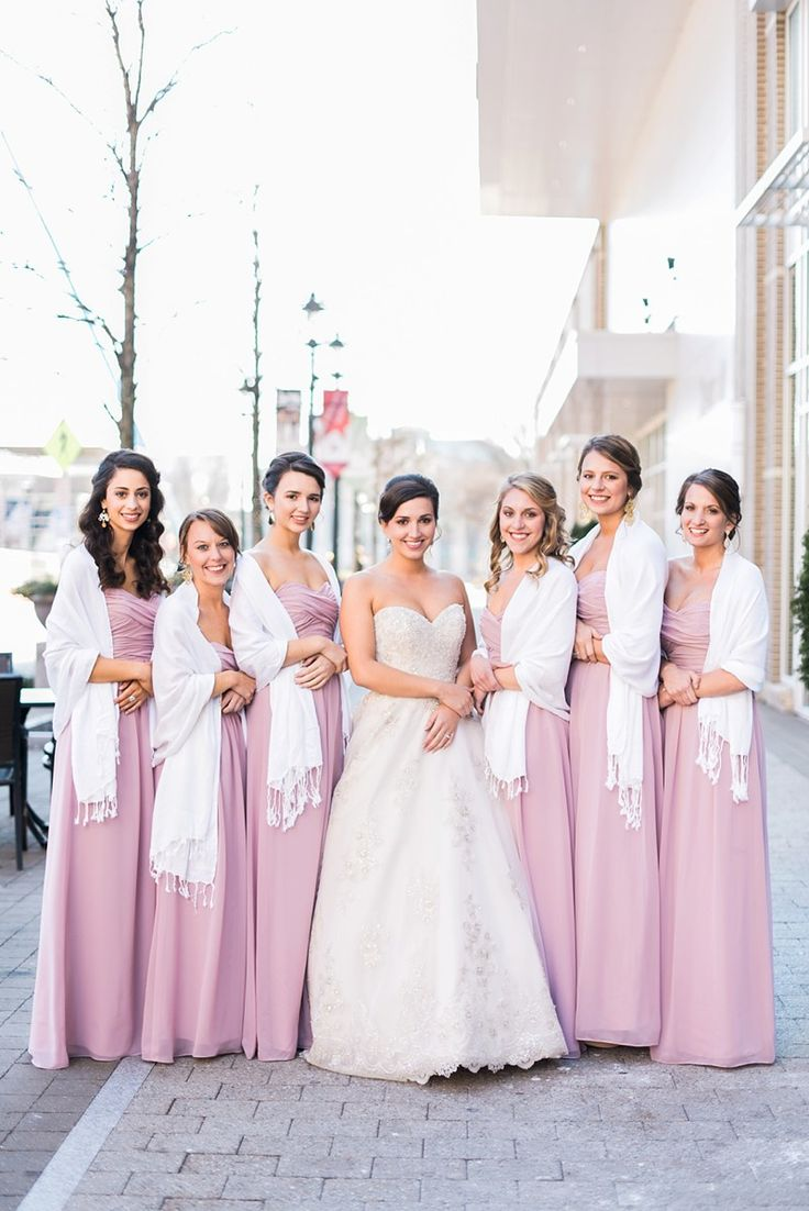 27 best z lime dress many looks images on pinterest limes floor length pink bridesmaid gowns with white shawls perfect for a wedding or early spring ombrellifo Choice Image