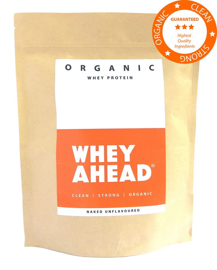 Organic Whey Protein 500g Naked Unflavoured
