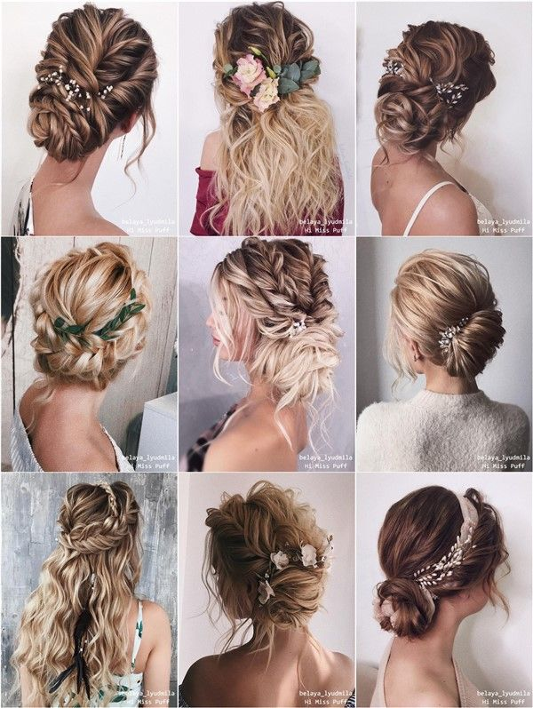20 Long Wedding Hairstyles and Updos from belaya_lyudmila – Hi Miss Puff