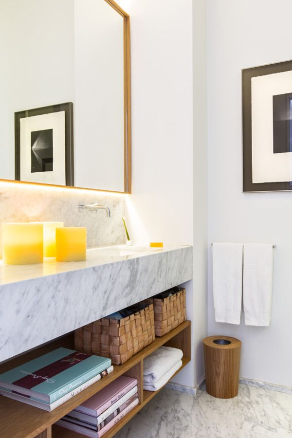 Scandinavian Interiors Design Modern Bathroom