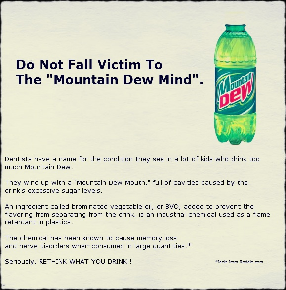 """Mt Dew Mouth/ Kind of looks like """"Meth"""" mouth"""