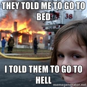 disaster girl meme generator - photo #1