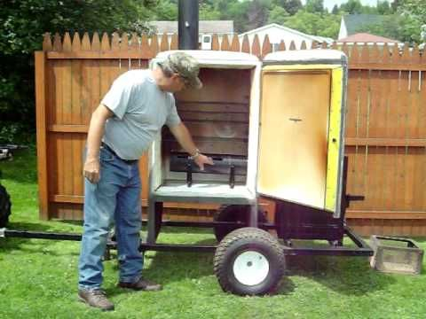 how to build a meat smoker plans