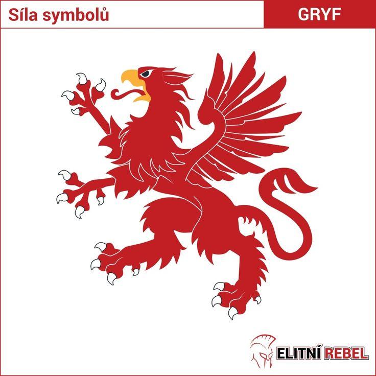 Gryf, někdy nazývaný pták Noh je bájné zvíře vzniklé spojením Lva a Orlice