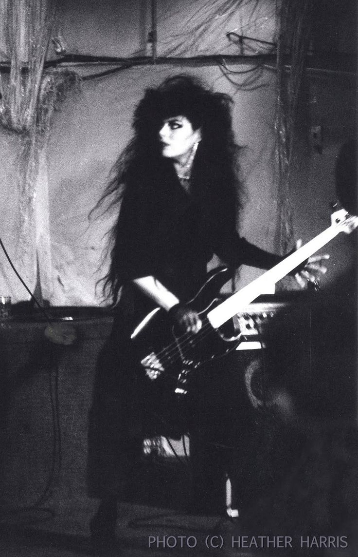Patricia Morrison - Gun Club & Sisters Of Mercy